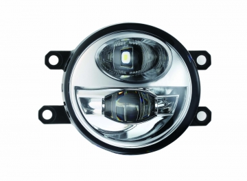 2in1 Fog Lamp with Daytime Running Light/ Chrome
