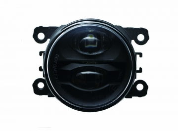 90mm Multifunction Fog Lamp with DRL/ Black